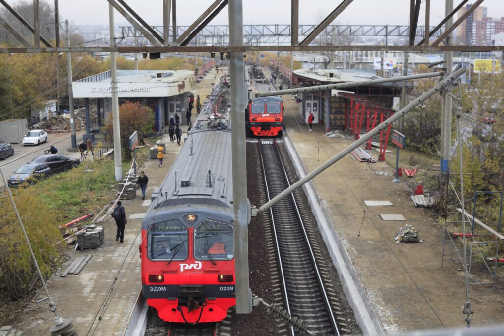 Станцию Академическую в Иркутске реконструируют