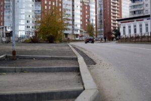 Сквер в Первомайском